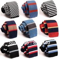 Fashion Men's Colourful Tie Knit Knitted Tie Necktie Narrow Slim Skinny Woven ZZLD001-020