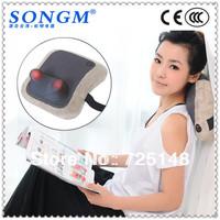 Free shipping Heating massage pillow china made in china as seen tv massage pillow massage cushion