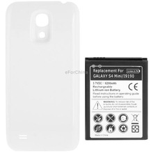 6200mAh Replacement Mobile Phone Android Battery/Bateria /Cover Back Door for Samsung Galaxy S IV mini / i9190