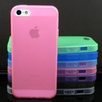 Soft TPU Ultra Thin Matte Back Case Cover Skin Side Button For iPhone 5 5G 458