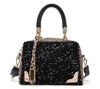 Hot Sale! Fashion Personalized PU leopard paillette Women Handbag Tote Bag Women Shoulder Bag , tmp0017