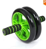 No Noise Abdominal Wheel Ab Roller With Mat For Exercise Fitness Equipment Free Shipping