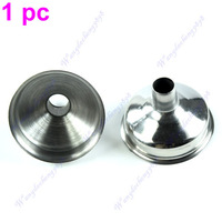 1pc New Stainless Steel Funnel For All kinds Of Hip Flasks Wine Pot Filler