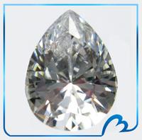 Dazzling Pear Cut CZ AA Grade Water/Tear Drop Shape Cubic Zirconia Clear Zircon DIY Jewelry Findings Supplies (PSCZ-10)