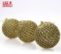 New Year 8cm christmas ball tree decoration ball Christmas ornament  Christmas tree decorating supplies Three color options