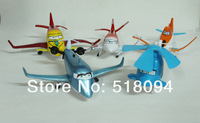 Free Shipping  Movie Planes Dusty PVC Figure Model Toys Planes Cartoon Toys 5pcs/set DSFG022