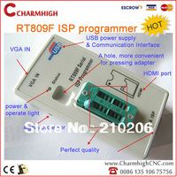 Hottest! VGA LCD ISP programmer RT809F Serial ISP Programmer with ICSP, PC Repair 24-25-93 serise IC RTD2120, discount!