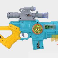 Super tong watt electric toy gun child electric gun acoustooptical artificial projection function belt of the boy toy gun