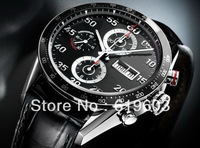 FREE shipping 2013 Luxury Brand Watches Fashion Automatic Men's Stainless Steel watch T--0088