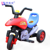 Child electric motorcycle baby stroller pedal toy car electric tricycle charge