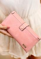 Wallet female long design 2013 shinhan solid color vintage zipper hasp women's day clutch wallet  purse women wallet women
