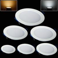 Fashion 7W/9W/12W/15W/18W/25W led ceiling light cool white/warm white AC85-265V panel light