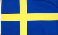 Sweden Flag 3x5 3 x 5 Brand NEW Swedish Banner 3FT 5FT