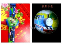 thomas projection watch child watch cartoon electronic watches gift watch 5pcs/lot free shipping