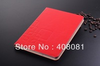 for ipad Air 5th Luxury Leather stand case+ card slot colorful smart cover case 5pcs/lot