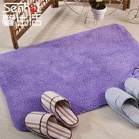 Thickening chenille absorbent mats doormat comfortable slip-resistant mats bedroom mat 60 90cm chromophous
