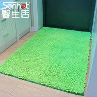 Millenum waste-absorbing slip-resistant ultrafine fiber chenille carpet entrance bath mat coffee table carpet 80 120