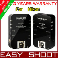 Yongnuo YN-622N  YN622  Wireless TTL Flash Trigger  For nikon  DSLR camera ,1set