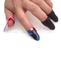 NEW Plastic 1 Thumb + 3 Finger Nail Guitar Picks Plectrums Set