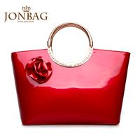 Bridal bag 2013 fashion bags handbag red women's handbag flower women's married bag