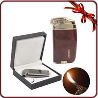 W/ Gift Box+Adjustable Flame JOBON Cigarette Cigar Lighter Butane Gas Tobacco Smoking Pipe Lighter