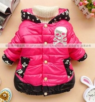 The new winter models XYX girls coat children thick skull