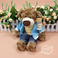 Free Shipping Teddy small 9354 hippo1 jacket lazy bear toy