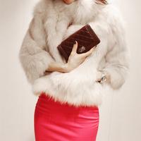 Free shipping NEW Winter Warm Korean Fashion Luxury Quality Overcoats Women's faux  Fur Coatsjacket Outerwear  wholesale WC127