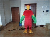 bs2013 high feedback parrot mascot costume parrot cartoon mascot costumes