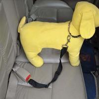 Adjustable Pet Product Car Seat Safety Belt Seatbelt for Dog Cat Black