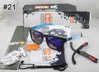 2013 New Ken Block Sunglasses with Replaceable Arm Legs Eyewear Retro Personalized Sun glasses new in box 21 color can choose