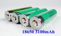 4PCS/lot Original Protected 18650 3100mah 3.7V li-ion rechargebale battery with PCB  for Panasonic Free Shipping