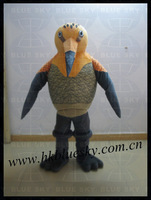 bs2013 high feedback adult animal bird mascot costume for zoo show