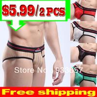 Briefs Shorts Men underwear sexy Quick Dry Mens Underwear Penis Sheath men's briefs Men Shorts Gay Underwear New 2013 MU1006A