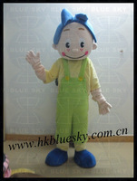 bs2013 high feedback cartoon boy mascot costume for super market