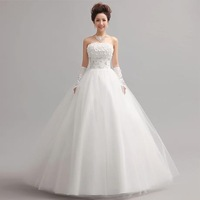 2014  FREE SHIPPING ! hot selling bride dress to the wedding dresses