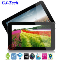 2013 New Free shipping cheapest 9inch galaxy tablet pc VIA 8880 1GB 8GB dual camera Android 4.2 Netbook mini computer pad