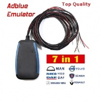 Adblue Emulator 7-in-1 with Programing Adapter free shipping 10pcs