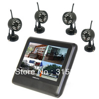 "Digital Wireless Camera System 2.4G Video 7"" LCD Baby Monitor transmission distance up to 300m"