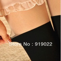 Wholesales of 50 pcs Free shipping  Fashion sexy fake stitching was thin stockings pantyhose stockings spell color false Knee