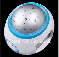 Christmas Gift Colorful Music Starry Star Sky Projection Calendar Thermometer Alarm Clock  DA0939