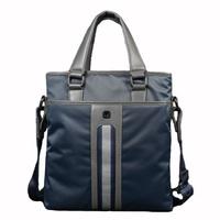 Male bag vertical water-proof cloth hand man bag shoulder bag cloth free shipping bag