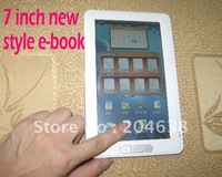 On sale new e-book ebook 7 inch 4GB ebook reader touch screen