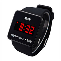 Fashion led sports jelly electronic watch male women's looply lovers watch