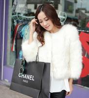 Free Shipping Korean Ladies New Winter Luxury Imitation Fox Fur Coat Thick Warm Short Paragraph Ladies Fur Jacket