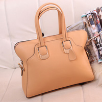New 2013 women's cowhide handbag genuine leather women's handbag black vintage bag women's handbag  Free shipping