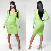 2013 New Fashion Free shipping  wholesale bandage dress hot bodycon dress sexy women elegant party dresses LYQ1389