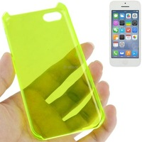 Colorful Smooth Surface Translucent Plastic Case for iPhone 5C