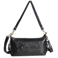 NEW 2013 Genuine leather crocodile pattern shoulder bag messenger bag fashion handbag 1096