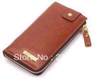 genuine leather cow hide wallet long version wallet gentlemen's wallet